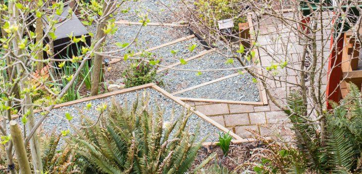 Pathways in Oceanside Garden