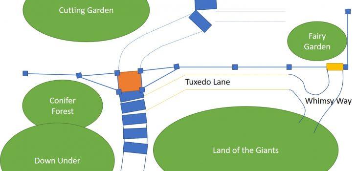 Concept plan for the lower portion of Oceanside Garden