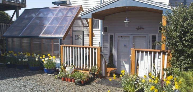 Greenhouse at Oceanside Garden