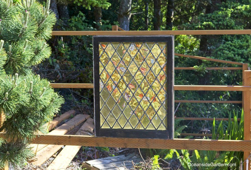 Garden Art - Stained Glass Window